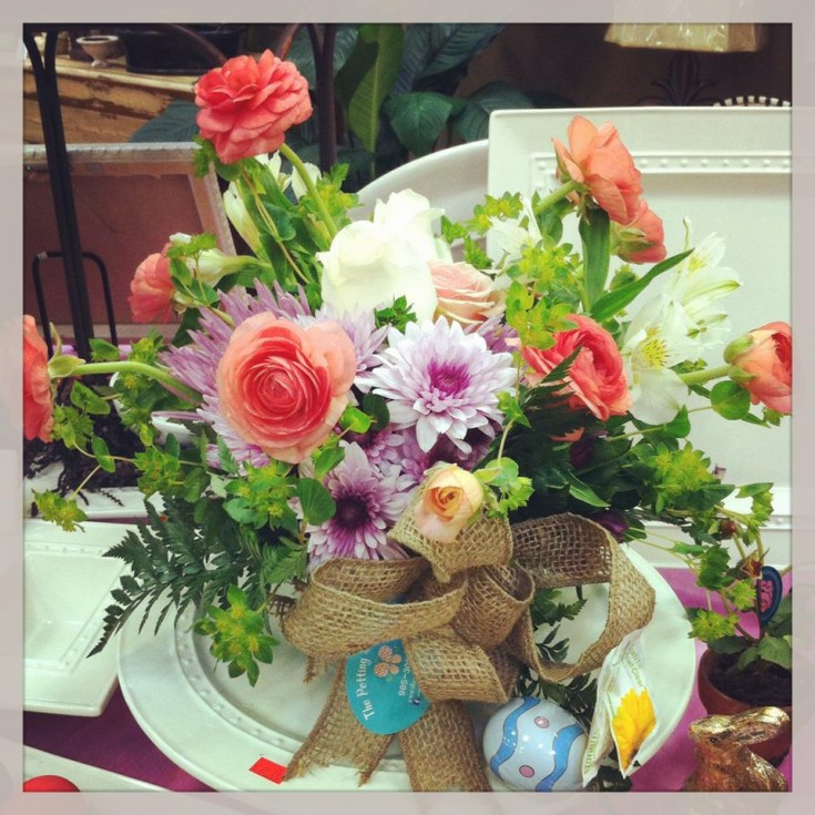A lovely bouquet from the Potting Shed Florist in Luling, LA