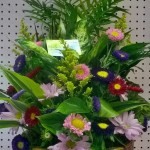 A lovely piece from Wilma's Flowers in Jasper, AL