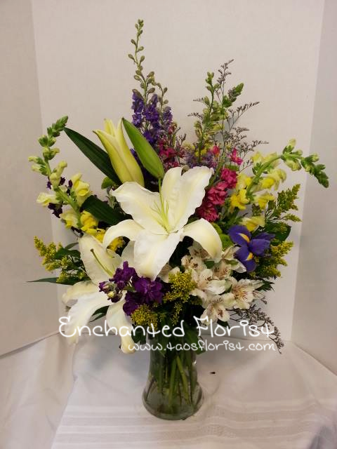 A slice of beauty with Enchanted Florist in Taos, NM
