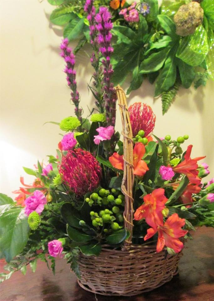 An excellent piece from Inspirations Floral Studio in Lock Haven, PA