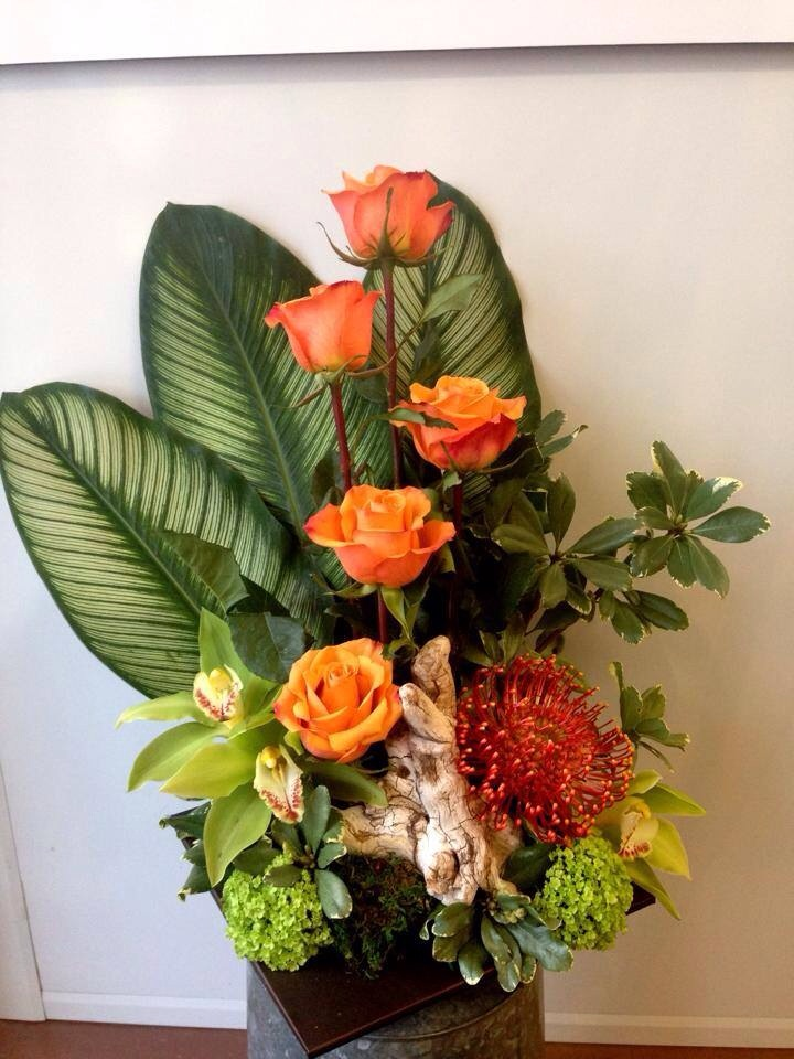 Another beautiful arrangement from Petals in Thyme of Wasaga Beach, ON