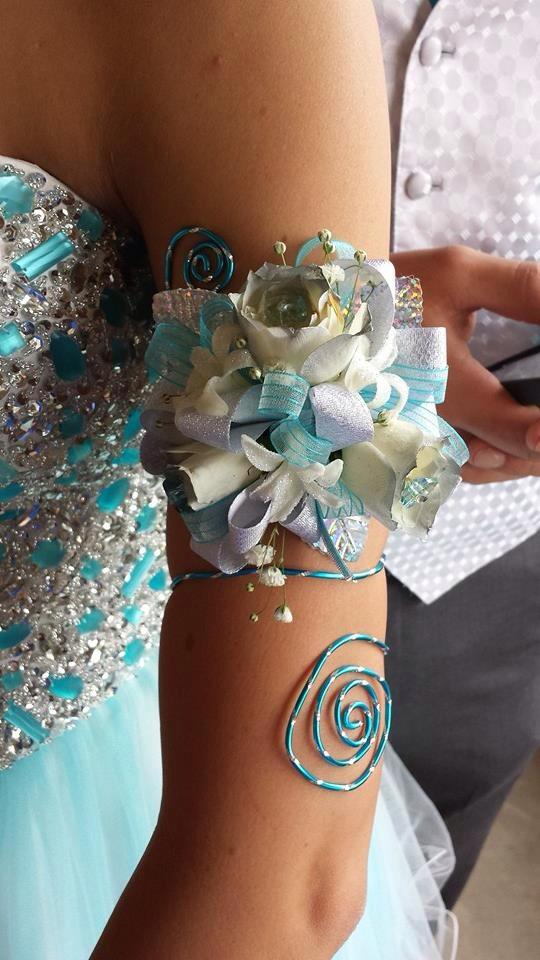Beautiful arm wrap from A New Beginning Florist in Moore, OK