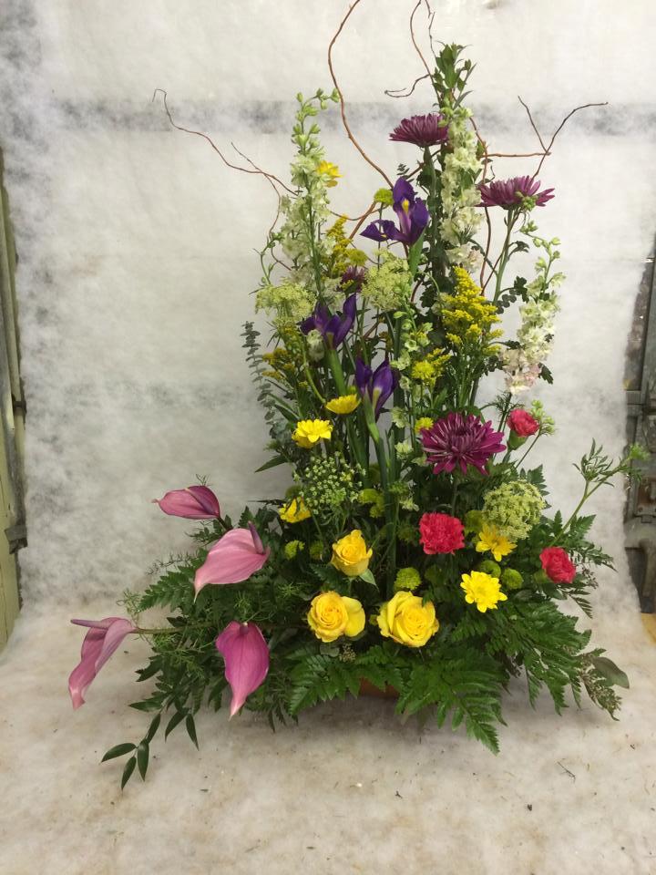 Beautiful design from Hobby Hill Florist in Sebring, FL