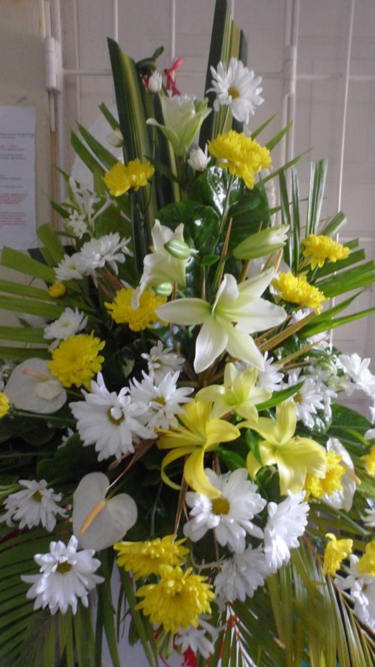 Easter flowers from Seju Selektion Florist in Bridgetown, Barbados