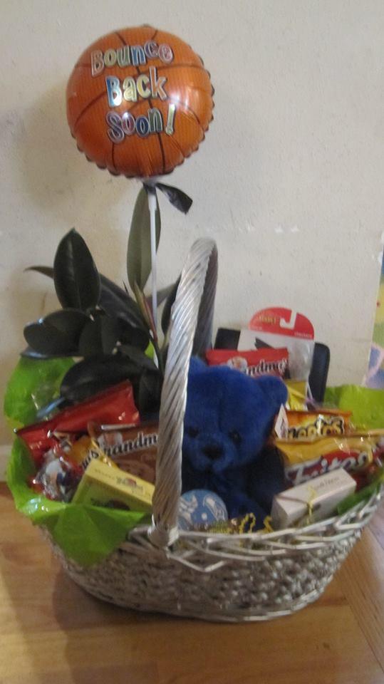 Get well basket from Alicias Wonderland II in Renton, WA