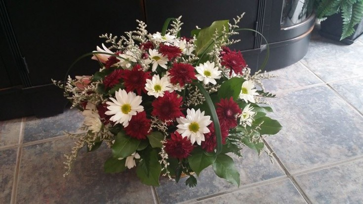 Lovely piece from BlueShores Flowers & Gifts in Wasaga Beach, ON
