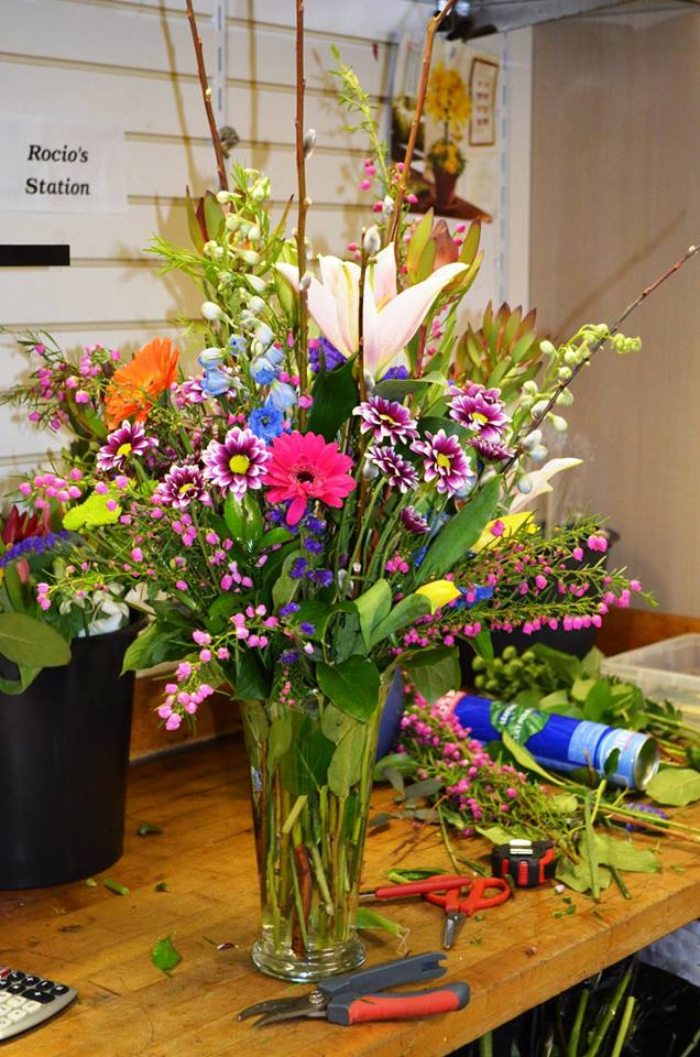 Lovely spring flowers from Monday Morning Flower and Balloon Co. in Princeton, NJ
