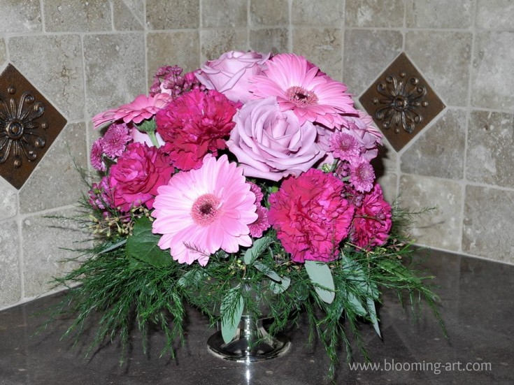 Shades of purple from Blooming Art Floral Design in San Diego, CA