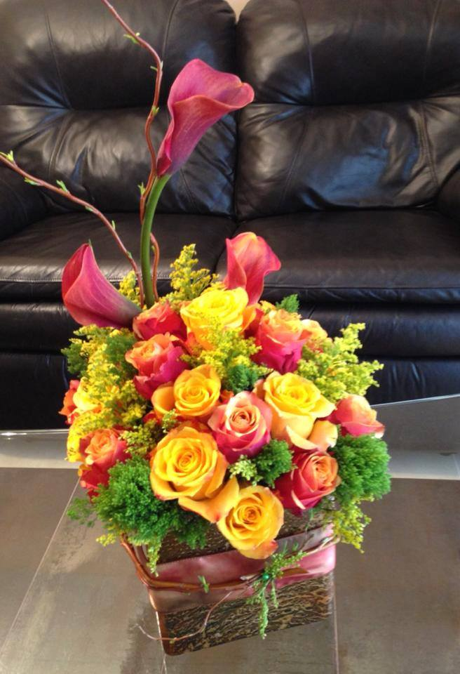 Something bright from Marina's Flowers in Staten Island, NY