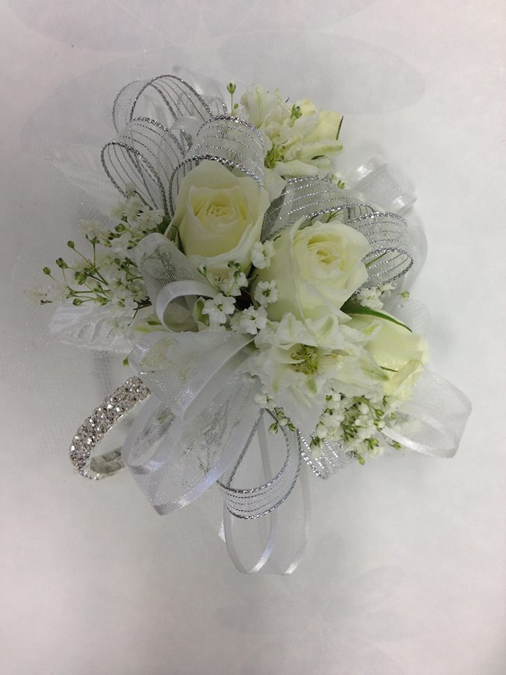 A gorgeous corsage from A'Bloom LTD in Walkersville, MD