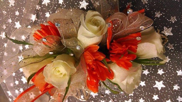 A lovely corsage from Mabel Flowers in Mabel, MN