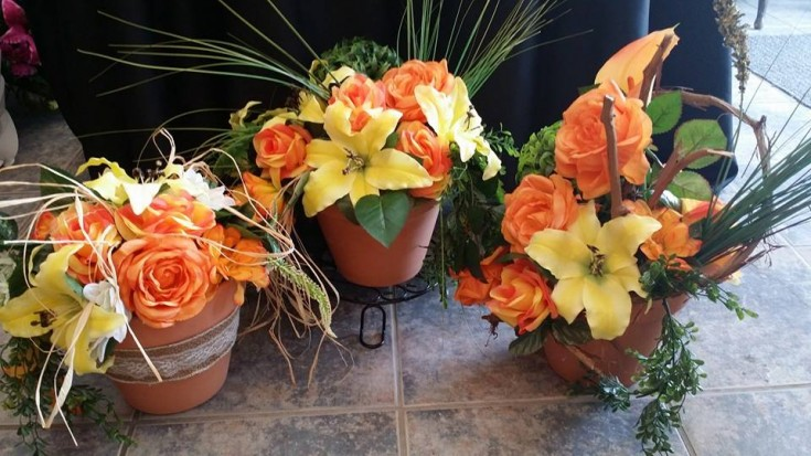 A trio of beauty from BlueShores Flowers & Gifts in Wasaga Beach, ON