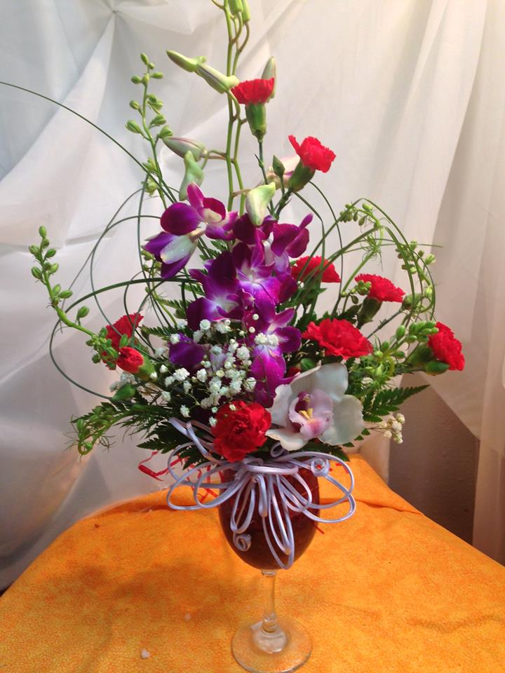 An unusual mix from Michele's Floral and Gifts in Copperas Cove, TX