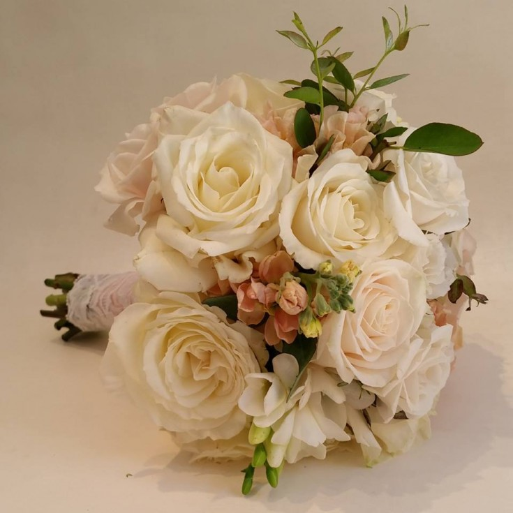Beautiful bridesmaid bouquet from Paradise Valley Florist in Scottsdale, AZ
