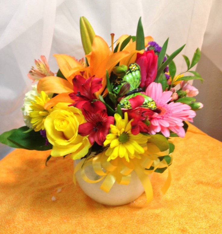 Bright and cheerful from Michele's Floral and Gifts in Copperas Cove, TX