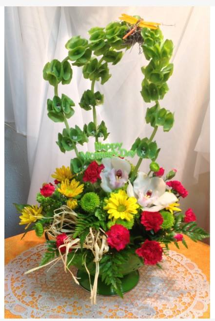 Creative Mother's Day design from Michele's Floral and Gifts in Copperas Cove, TX