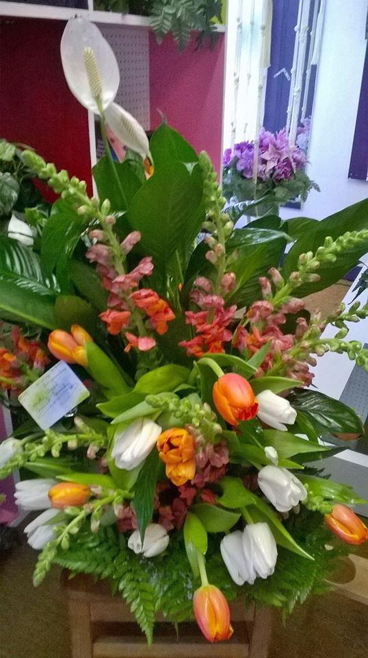 Creative piece from Wilma's Flowers in Jasper, AL