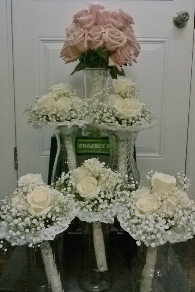 Gorgeous wedding flowers from Wilma's Flowers in Jasper, AL
