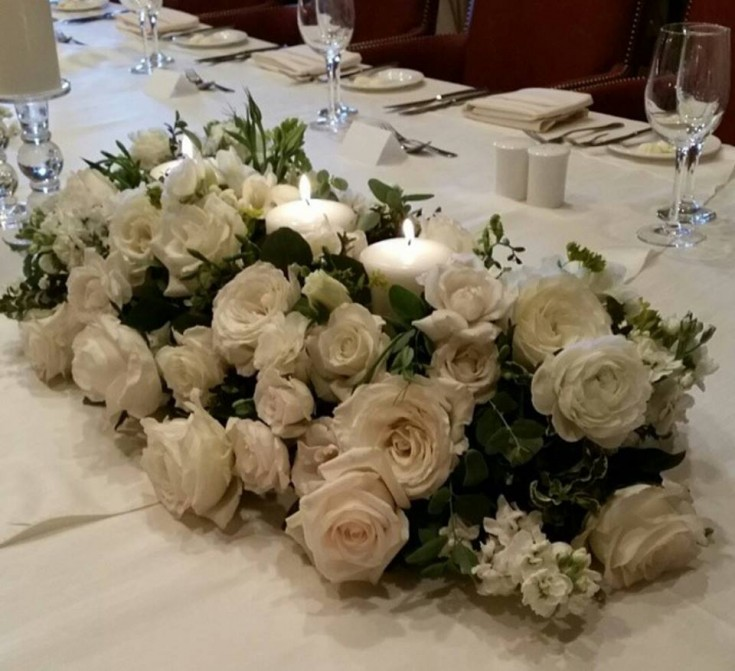 Lovely centerpiece from Paradise Valley Florist in Scottsdale, AZ