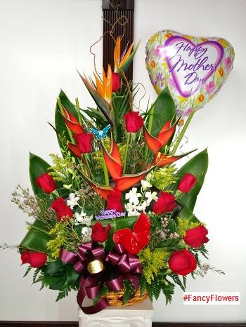 Mother's Day arrangement from Fancy Flowers & Gift Shop in Hialeah, FL