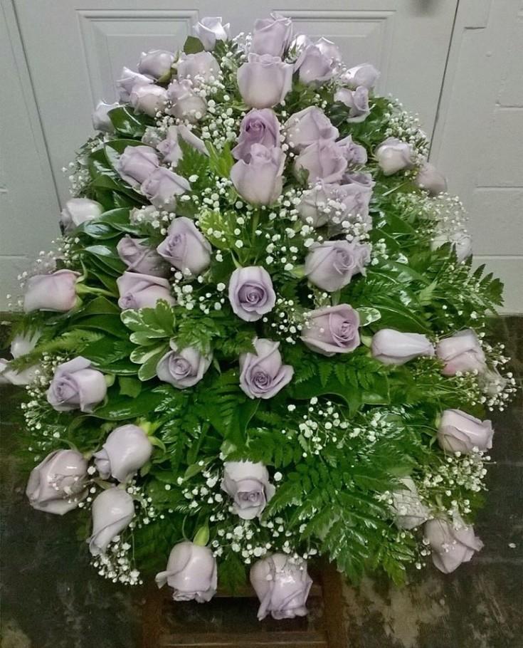 A beautiful arrangement from Wilma's Flowers in Jasper, AL