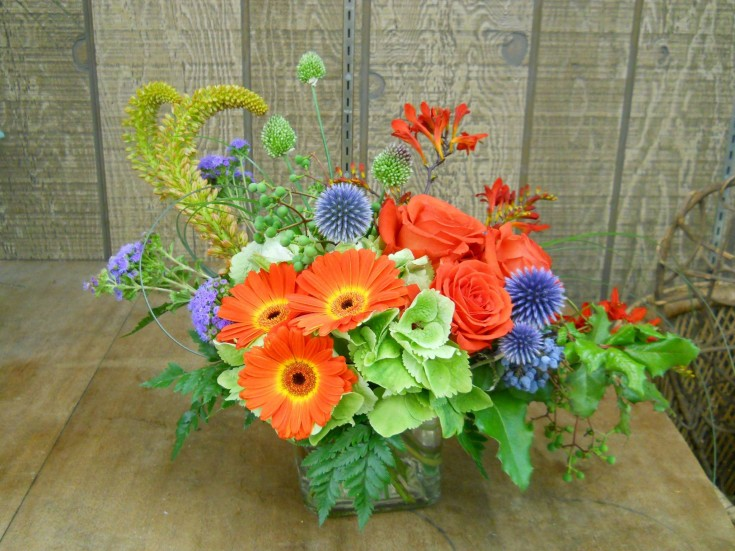 A gorgeous arrangement from Corrine's Flowers & Gifts in Medford, OR