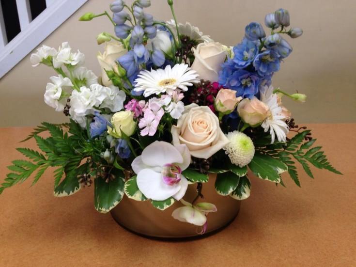 Amazing arrangement from Oak Bay Flower Shop Ltd. in Victoria, BC