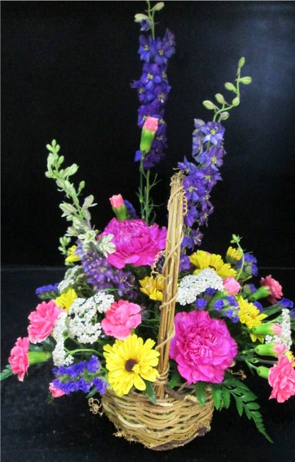 An explosion of color from Inspirations Floral Studio in Lock Haven, PA