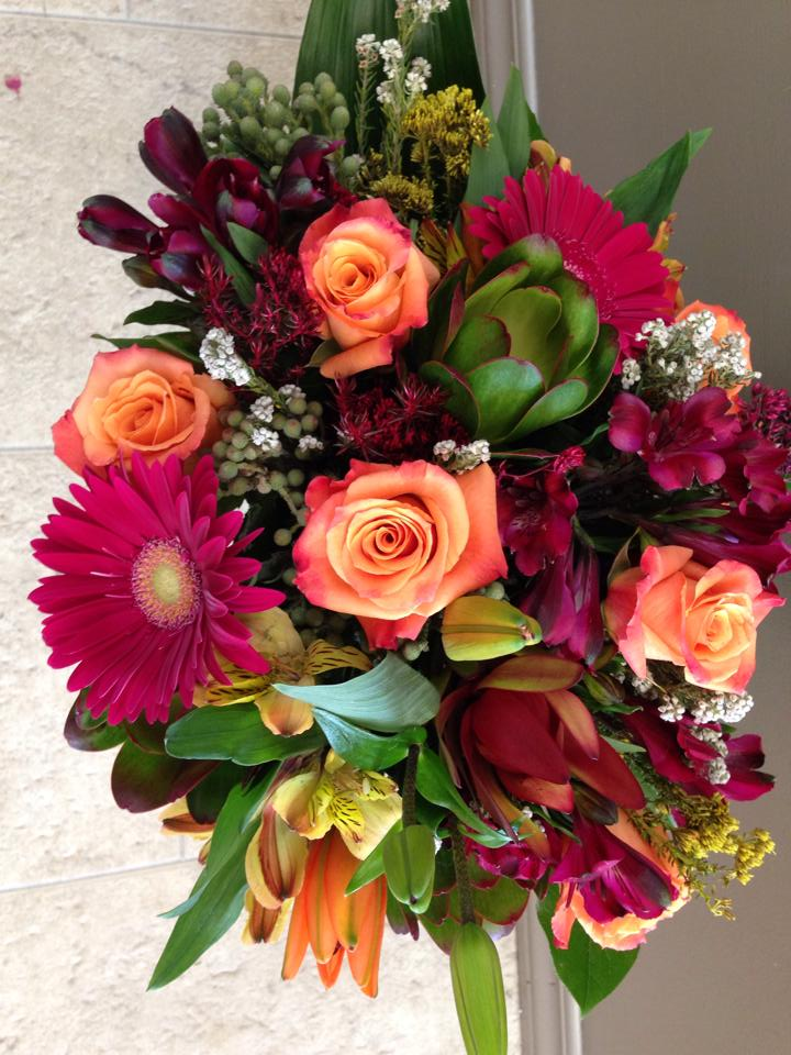 Anniversary bouquet from Bloomin' Scents in Morris, MB