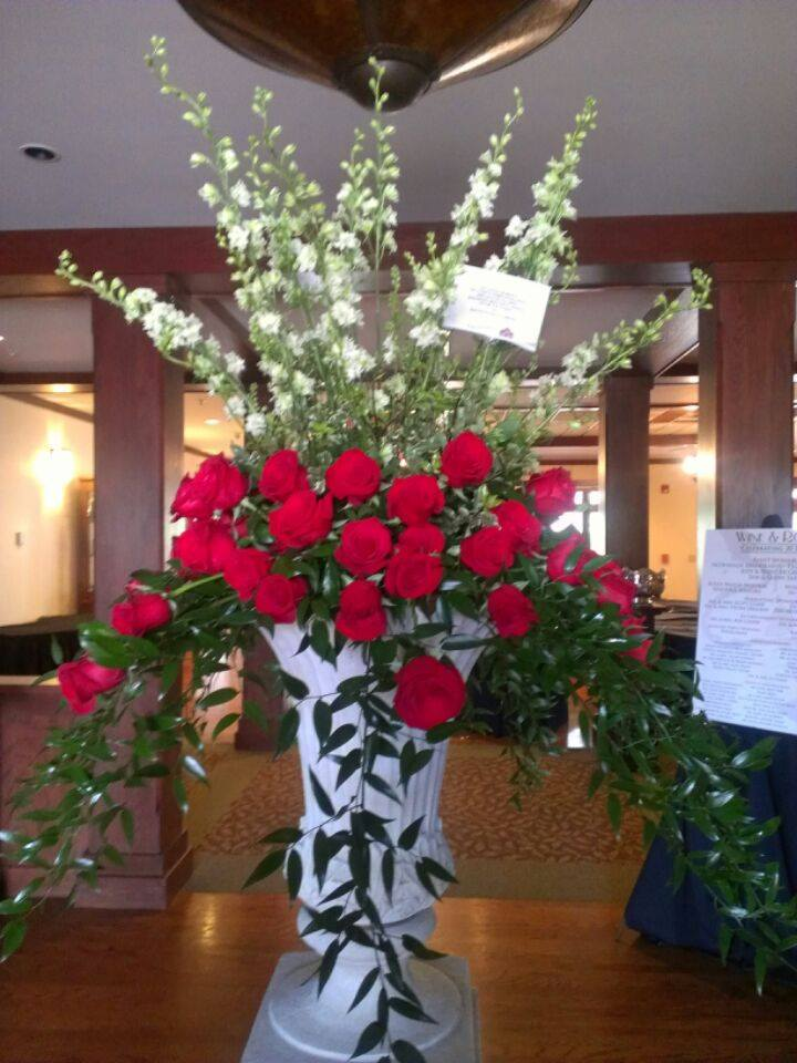 Beautiful arrangement from Kay Schlaefi AMF, PCF of Expressions Flowers, LLC in Fort Smith, AR