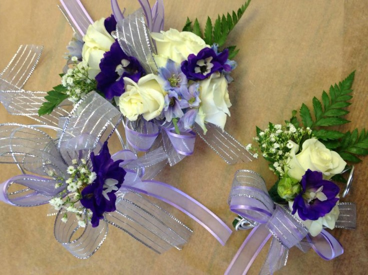 Beautiful corsages from Oak Bay Flower Shop Ltd. in Victoria, BC