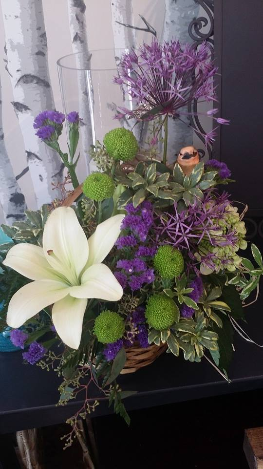 Beautiful piece from BlueShores Flowers & Gifts in Wasaga Beach, ON
