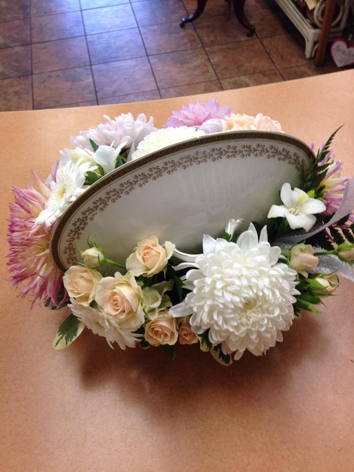 Elegant arrangement from Oak Bay Flower Shop Ltd. in Victoria, BC