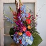 Explosive color combo from Klamath Flower Shop, LLC in Klamath Falls, OR