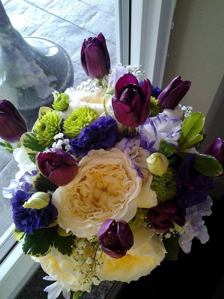 Exquisite bridal bouquet from Crow River Floral and Gifts in Hutchinson, MN