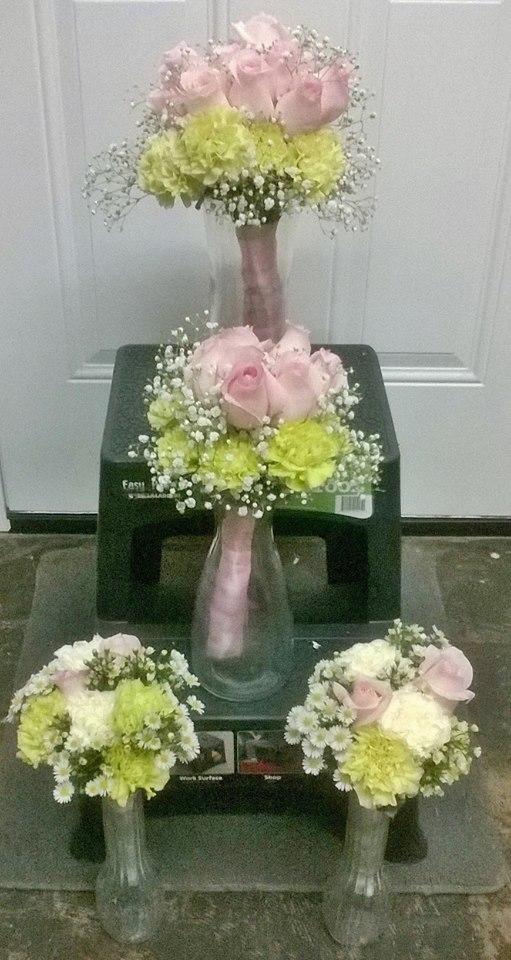 Gorgeous bouquets from Wilma's Flowers in Jasper, AL