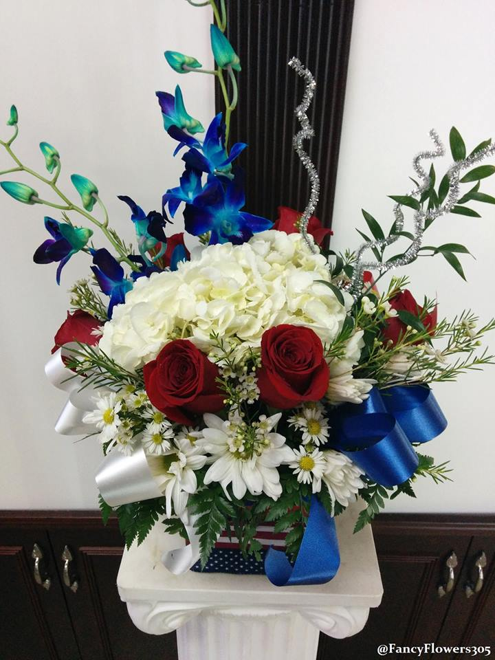 Happy 4th of July from Fancy Flowers & Gift Shop in Hialeah, FL