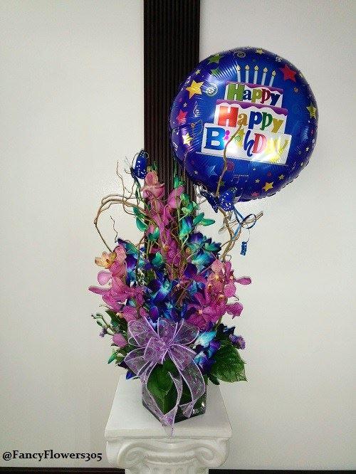 Orchids arrangement from Fancy Flowers & Gift Shop in Hialeah, FL
