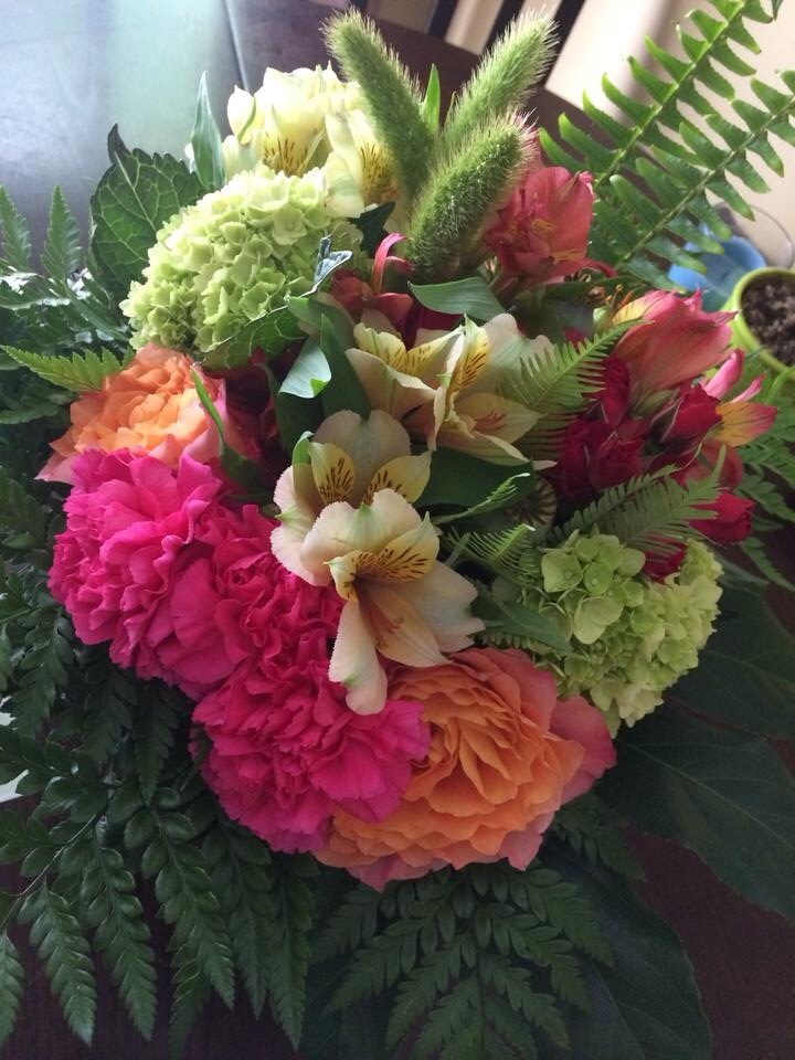 Simple hand tied bouquet from Petals in Thyme in Wasaga Beach, ON