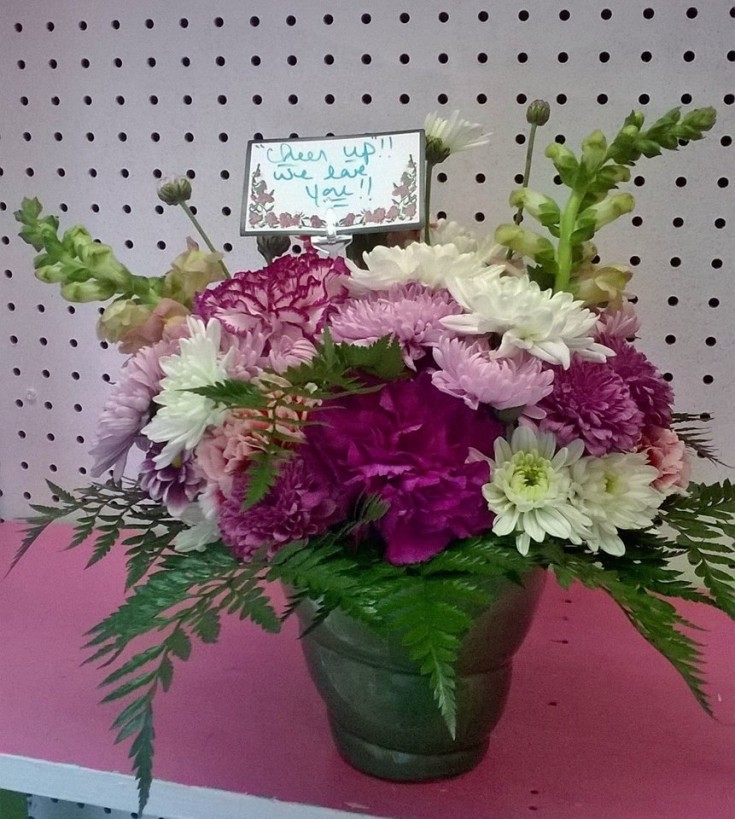 Some beautiful special occasion flowers from Wilma's Flowers in Jasper, AL