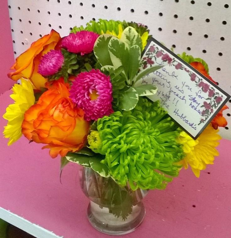 'Thank You' from Wilma's Flowers in Jasper, AL