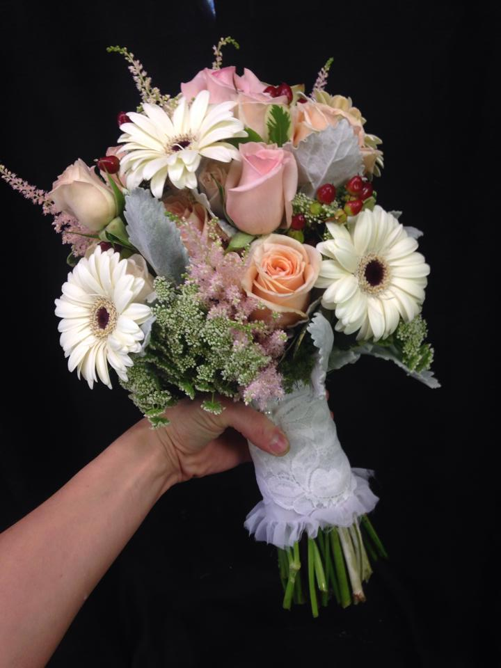 Vintage style bouquet from West End Florist in Rome, GA
