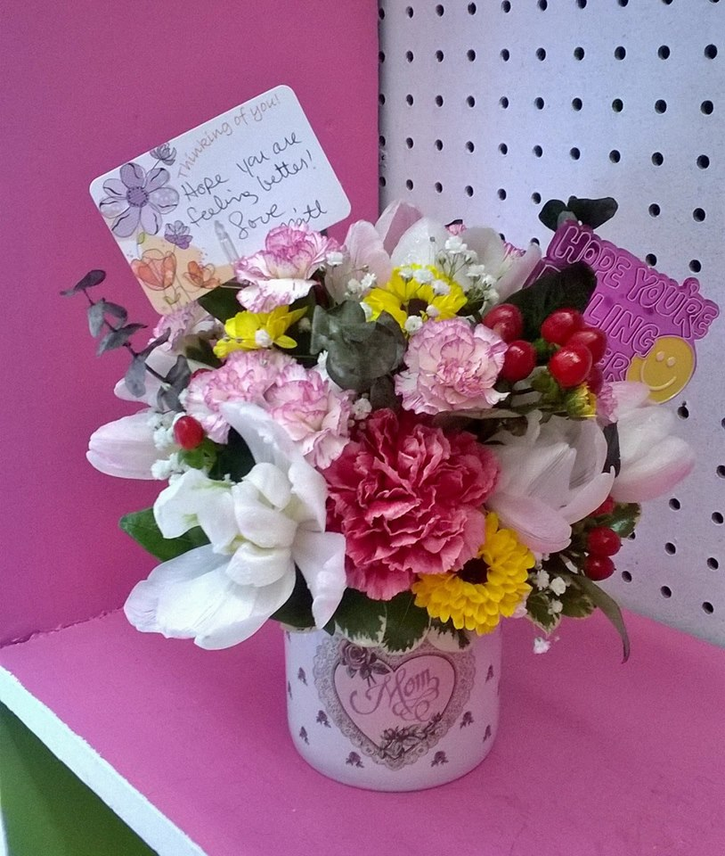 A gift for mom from Wilma's Flowers in Jasper, AL