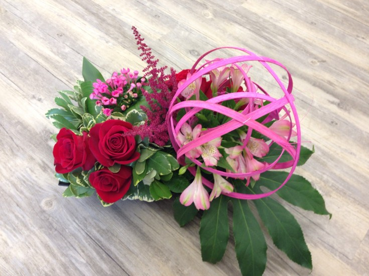 A popular design from Petals in Thyme of Wasaga Beach, ON