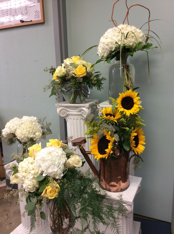 Amazing party flowers from Brenham Floral Company in Brenham, TX