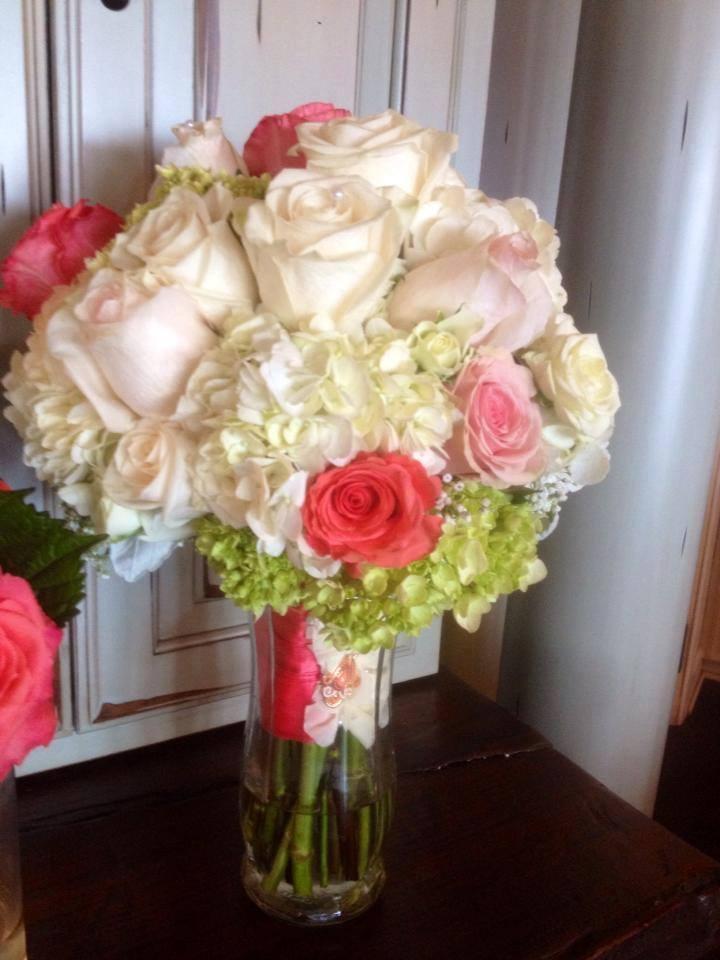 Beautiful garden bouquet from The Flower Shop in Pryor, OK
