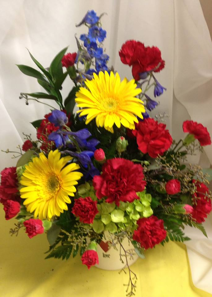 Saying 'I Love You' at Michele's Floral and Gifts in Copperas Cove, TX