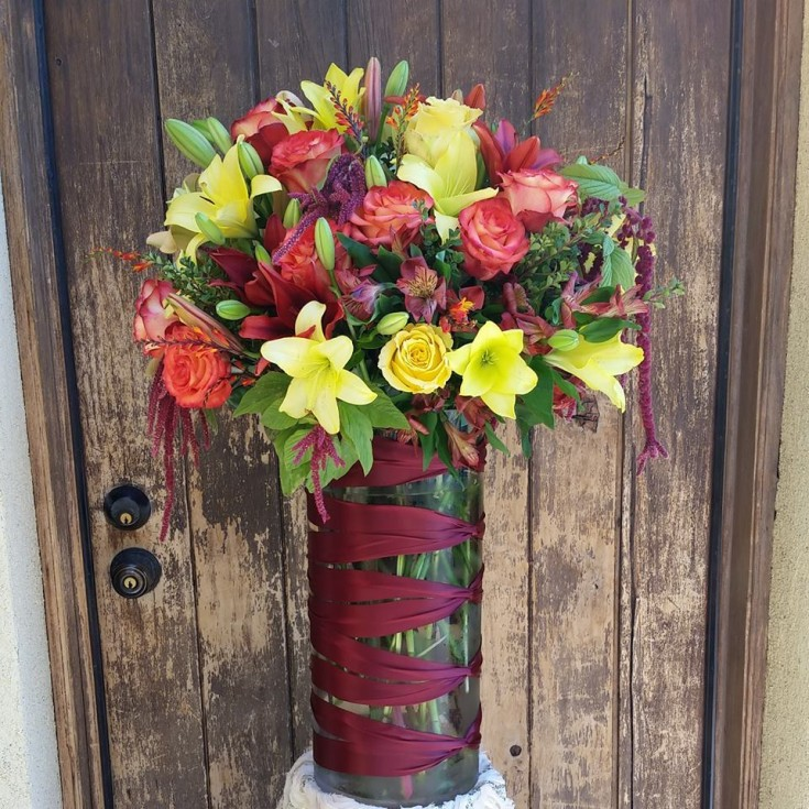 When the customer asked for bright and big ... Paradise Valley Florist in Scottsdale, AZ