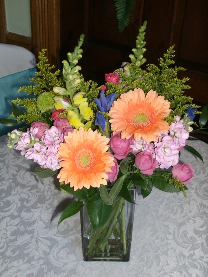 A colorful arrangement from Flowers For You, By Diana in Beeton, ON