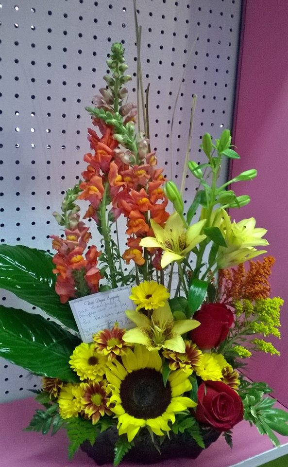 Creative design from Wilma's Flowers in Jasper, AL